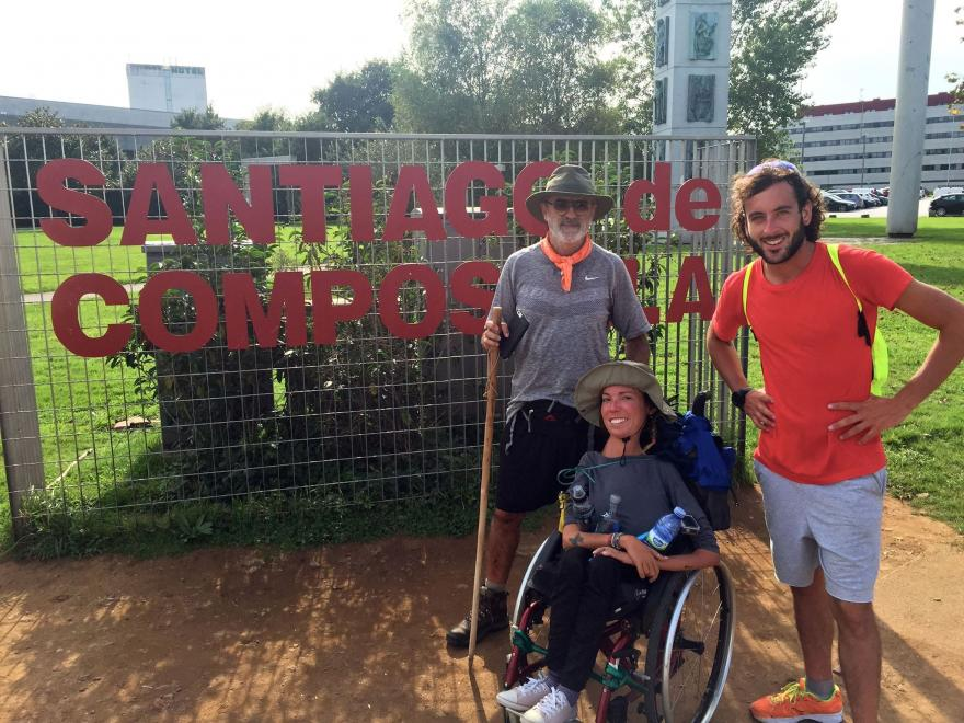 Marta e Francesco a Santiago de Compostela